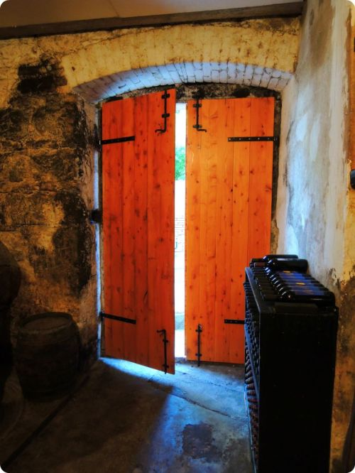 Beautiful door to the cellar