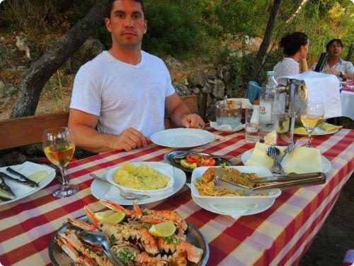 Lunch at Konoba Stoncica