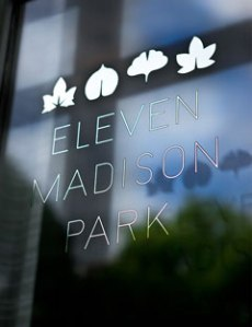 Photo: Courtesy of http://elevenmadisonpark.com/
