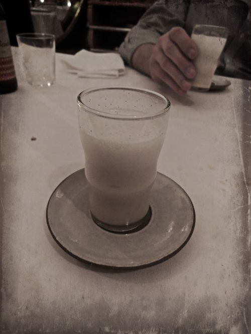 MALT Egg Cream with Vanilla & Seltzer