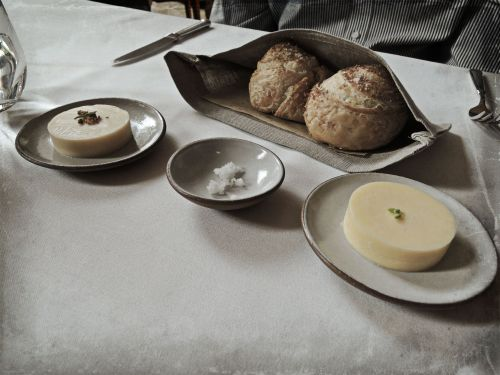 Rolls Bacon Fat Butter & Goat's Milk Butter
