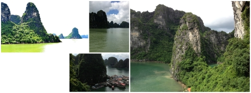 Ha Long Bay - Bay of the Descending Dragon; a UNESCO-declared World Heritage area