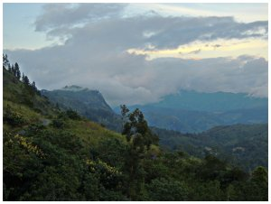 Breathtaking views from The Hideaway Hotel in  Bandarawela